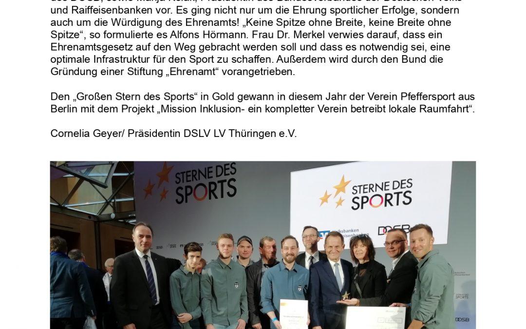 Sterne des Sports am 21. Januar 2020 in Berlin (21.01.2020)