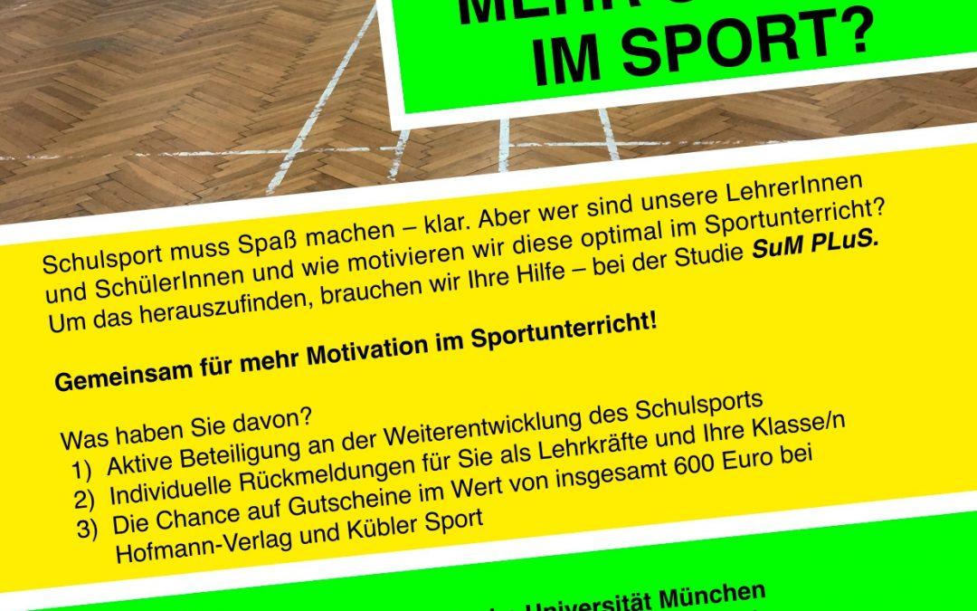 Neue Studie für den Schulsport (08.06.2018 )